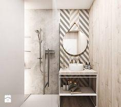 Mieszkanie w Sosnowcu - Łazienka, styl skandynawski - zdjęcie od FOORMA Pracownia Architektury Wnętrz
