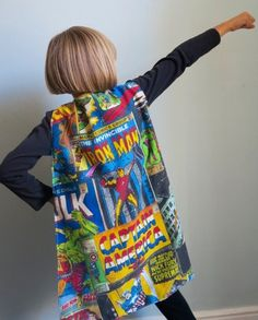 Marvel Fabric capes