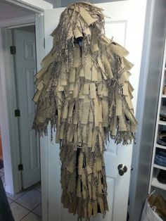 how to make your own sniper ghillie suit