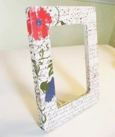decorate picture frames tutorial