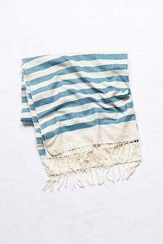 Striped Infini Beach Towel #anthropologie