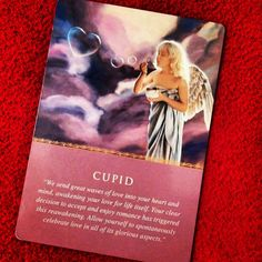 ~Cupid card from Daily Guidance from your Angels Oracle Cards by Doreen Virtue~