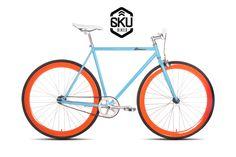 Check out the 6ku Bikes - Fixed Gear Single Speed Fixie Bike - 2013 Model at Fixie City (http://fixiecity.com)