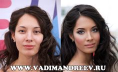 Russian artist Vadim Andreevhas mastered the art of make-up. Upon first glance you might think that these images have been touched up with Photoshop, but in actual fact all the work you see here has been done with make-up.