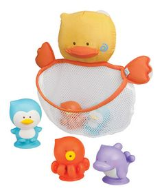 Take a look at this Nifty Net Bath Toy Set by Blue Box Toys on #zulily today!