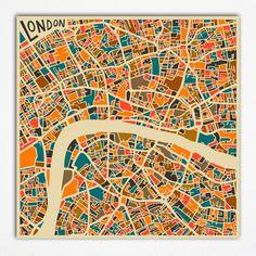 Abstract City Maps - Design - ShortList Magazine