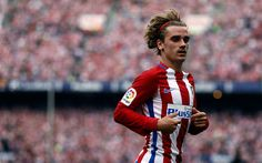 Lataa kuva 4k, Antoine Griezmann, blur, Atletico Madrid, Espanja, La Liga, jalkapallo