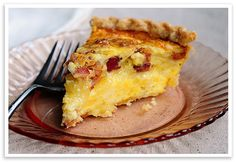 Brie and Bacon Quiche - She Wears Many Hats