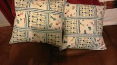 Cushions made for Sue for Christmas