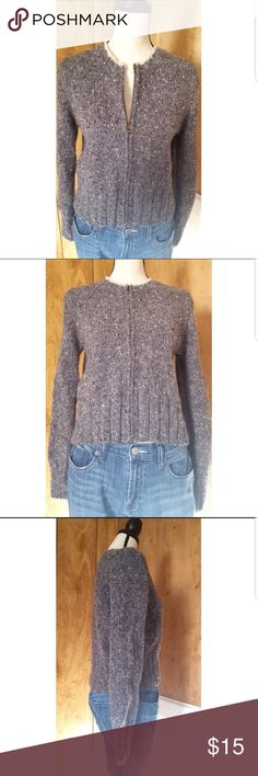 "Abercrombie & Fitch Lambswool Zippered Sweater Excellent condition Abercrombie and Fitch lambswool zip up sweater. Has some pilling but still looks amazing. Dress form measurements: Chest 34"" x Shoulders 36"" x Waist 27"" x Hips 36.5"" x Neck 12.5"" Abercrombie & Fitch Sweaters"