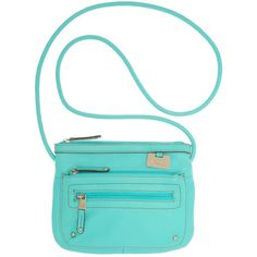 Tignanello Handbag, Power Pebble Double Zip Crossbody