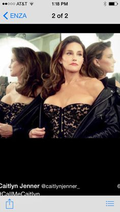 this is a male, NOT a woman. it is bruce jenner pretending he is a woman. good god, what a disgrace
