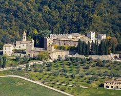 Italian Castle For Sale, Nr Siena, Tuscany, Italy.... http://www.castlesandmanorhouses.com/chateauxforsale.htm .... The largest property in the world currently on the market. This is a medeval castle just east of Siena, in 630 hectares. The castle has 115 bedrooms, and courtyard with tower and chapel.Galileo stayed in the tower here. A bargain at €28 million. #italianproperties