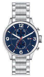 Tommy Hilfiger Men's 1790903  Casual Sport Stainless Steel Blue Dial Multi-Eye Watch Tommy Hilfiger. $108.18. Durable mineral crystal protects watch from scratches; Water-resistant to 50 M (165 feet); Case Diameter: 46 mm; Quartz multi function movement; Multi function watch, stainless steel case and bracelet, multi-eye. Save 30% Off!
