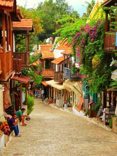Bright colors of #Kas #Turkey