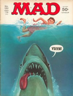 Alfred E. Neuman Goes to the Movies: A Gallery of SeventiesBlockbusters as seen in MAD Magazine |