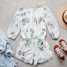 Sage Fox Romper, Bohemian Rompers from Spool 72. | Spool No.72