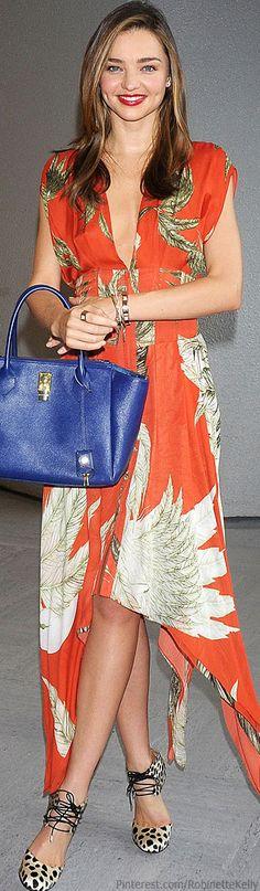 Street Style | Miranda Kerr  | The House of Beccaria
