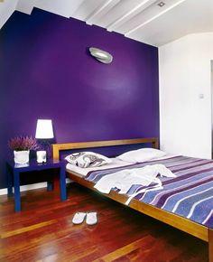 Sypialnia - kontrast
