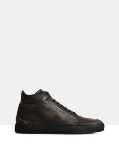 Sergio Brando High-Top Sneakers Muschio by Brando Online | THE ICONIC | Australia