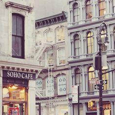 Soho, NYC | via laurenschoon