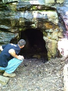 Kunjamuk cave Speculator NY Adirondacks it is said that the hermit French Louie lived in this cave