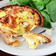 Ham and Potato Quiche