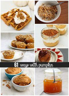61 Ways with Pumpkin