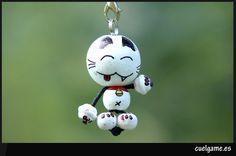 Maneki Neko Peg Dolls!