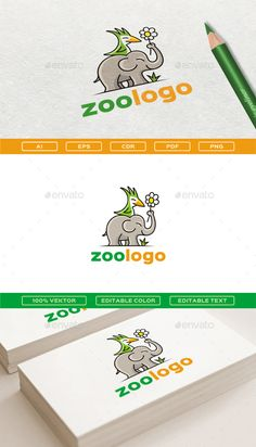 Zoo Logo Template Vector EPS, AI Illustrator, CorelDRAW CDR. Download here: http://graphicriver.net/item/zoologo/15850414?ref=ksioks