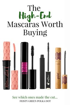 Want to try a high end mascara? Read this first and find the high end mascaras that are actually worth buying. Beauty Hacks For Teens, Makeup For Teens, Fiber Lash Mascara, Fiber Lashes, Organic Makeup, Natural Makeup, Makeup Tips, Eye Makeup, Drugstore Makeup