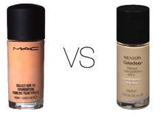 Beauty and Rants: MAC Studio Fix Fluid & Revlon Colorstay Foundation Color Chart