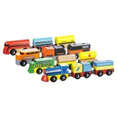 Wooden Train - Assorted