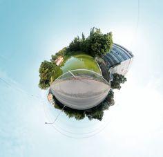 Zlin little planet by Panotour.cz