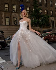 Reem Acra is a renowned international designer known for her breathtaking collections in Ready-to-Wear and Bridal. Reem Acra Wedding Dress, Reem Acra Bridal, Wedding Dresses, Gowns With Sleeves, Dream Wedding, Wedding Bride, Ball Gowns, New York, Atelier