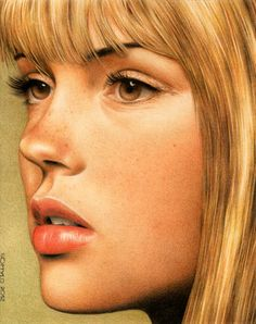 Colored Pencil Drawing.  Again, artist  name is on the drawing but it can't be read.