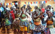 HOMOWO is a traditional festival in Ghana marking the new harvest.