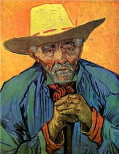 Portrait of Patience Escalier - Vincent van Gogh