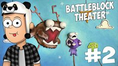 BattleBlock Theater - Удружил Блин #2 |AlbertPlay|