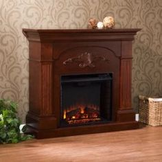 Details about 14 Electric Fireplace Heater 650W 1200W Adjustable