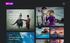 6. Gridded – Blog Website Template Web Design Tools, Tool Design, Free Design, Blog Websites, Magazine Website, Blog Design Inspiration, Grid Layouts, Website Template, Templates