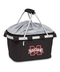 Take a look at this Mississippi State Metro Basket by Tailgate Essentials Collection on @zulily today!