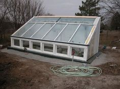 this summer project an earth sheltered greenhouse - Earth Sheltered Greenhouse Plans