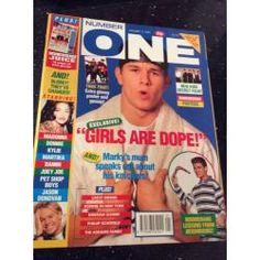 Number One Magazine - 1992 11/01/92 (Marky Mark Cover)