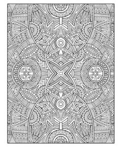 Another cool, detailed stress relieving pattern that we absolutely love! Hope you do too :)