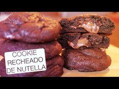Cookie Recheado de Nutella - Confissões de uma Doceira Amadora - YouTube