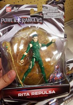 Power Rangers Rita Repulsa| Twitter
