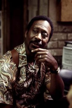 Detective Lester Freamon (Clarke Peters in 'The Wire')