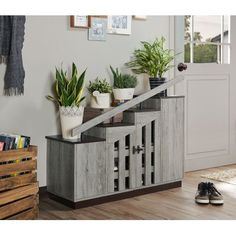 null <p></p><strong>Features:</strong><ul><li>Product Type: Shoe Storage Cabinet</li><li>Primary Material: Manufactured wood<ul><li>Primary Material Details: Oak; MDF; particle board</li></ul></li><li>Finish: Vintage Grey</li><li>Wood Species: </li><li>Doors Included: Yes</li><li>Mount Type: Freestanding</li><li>Pairs of Shoes Capacity: 12</li><li>Shelves Included: Yes<ul><li>Number of Shelves: 9</li><li>Adjustable Shelves: Yes</li></ul></li><li>Drawers Included: No<ul><li>Number of Drawers: </l Shoe Storage Unit, Entryway Shoe Storage, Shoe Storage Cabinet, Storage Drawers, Storage Spaces, Front Door Shoe Storage, Storage Cabinets, Storage Chest, Cabinet Fronts