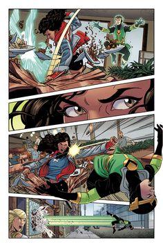 Young Avengers - written by Kieron Gillen, pencils Jamie McKelvie, inks Mike Norton, colors Matthew Wilson